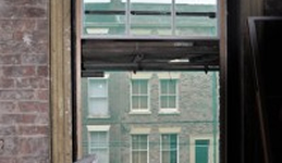 New Single Glazed Sash Windows, Duke Street, sash window restoration Liverpool (Sash Window Renovation)