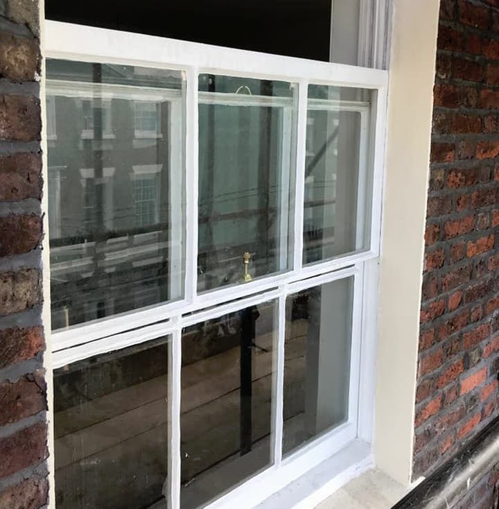 Sash Window Restoration Liverpool, Sash Window Restoration Grade II Listed Building, Liverpool, Merseyside